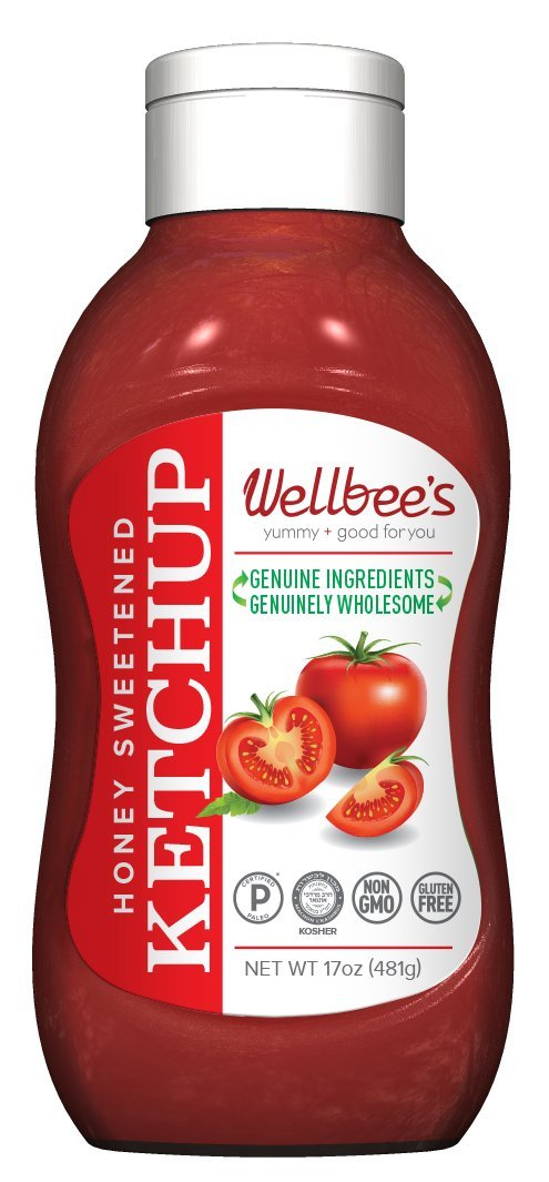 Wellbee's Honey Ketchup - Paleo & SCD Approved - No Preservatives! (17 oz)