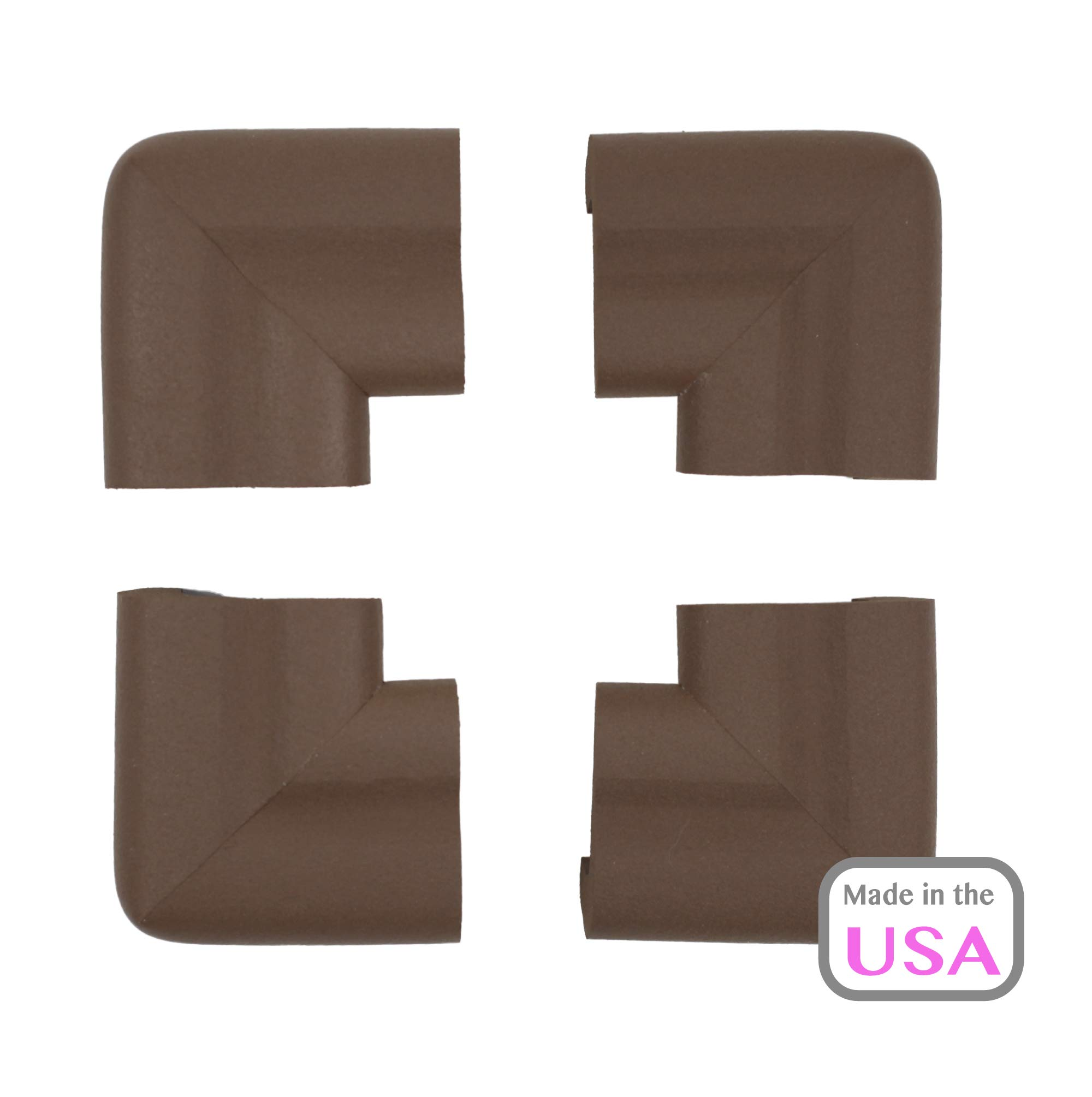 OOPSY Child Safety Jumbo Corner Guard 12 Pack, Brown