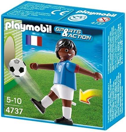 Playmobil Fútbol - Fútbol: Jugador Francia II, Juguete Educativo ...