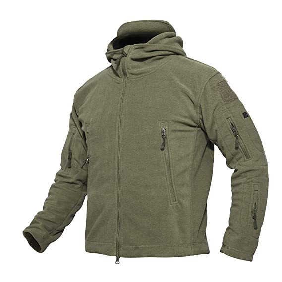 WEIYOUYO Chaqueta De Lana TáCtica Militar De Invierno Hombres Warm Polar Army Clothes Multiple Pocket Prendas De Abrigo: Amazon.es: Ropa y accesorios