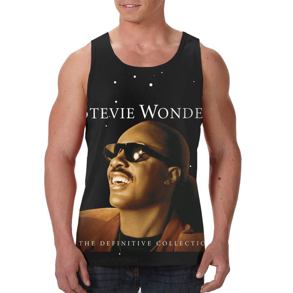 Avisn S Stevie Wonder The Definitive Collection Basic Sleeveless Tank Top Shirts