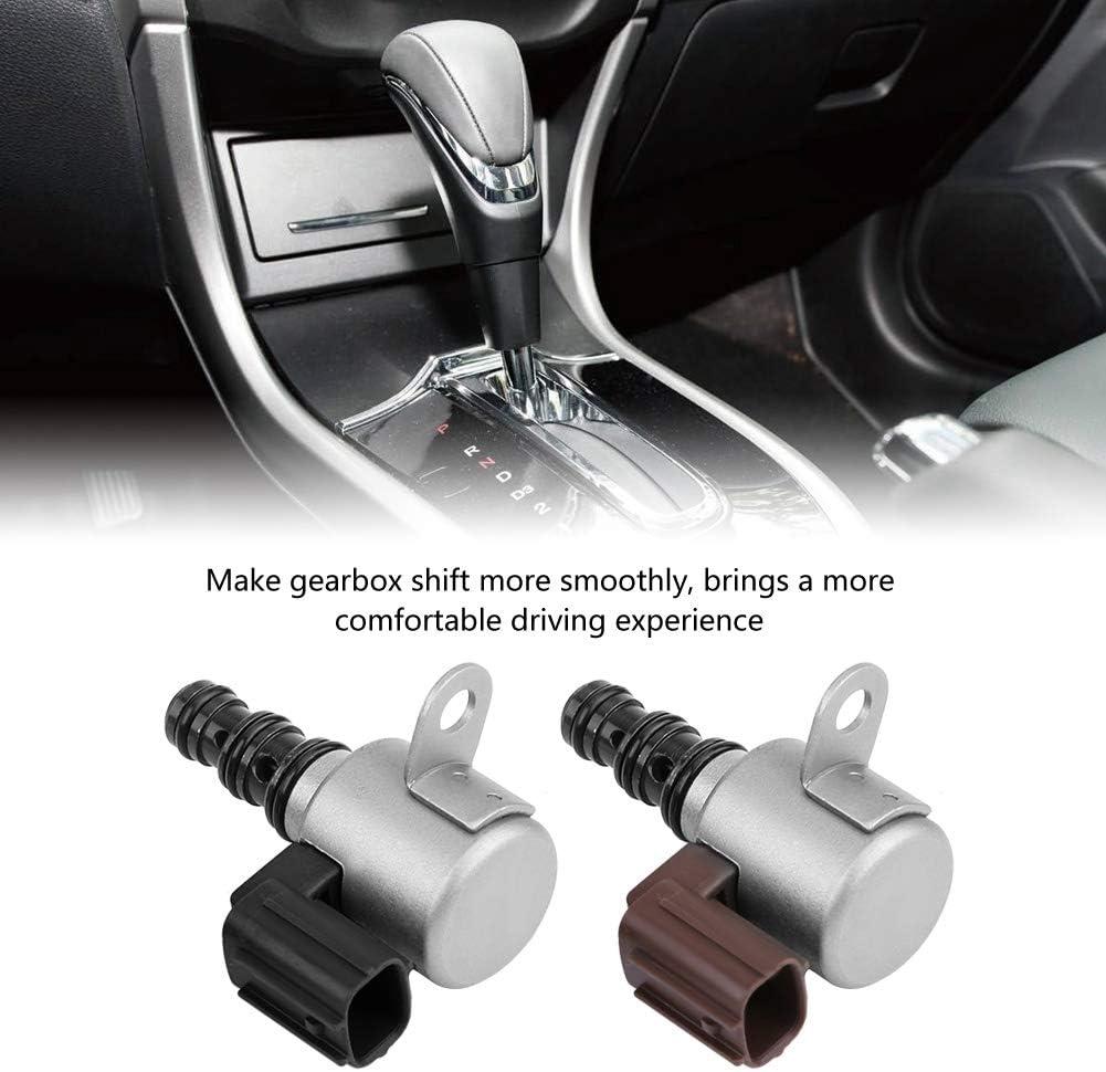 Qiilu 28400-P6H-013 2PcsTransmission Shift Control Solenoid Valve for Honda Accord Acura Pilot Odyssey 1998-2007