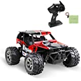 infinitoo Remote Control Car, High Speed Off-Road Vehicle 1:18, Auto 12km/h 2.4GHz, Electric Racing Car Toys, RC Buggy…