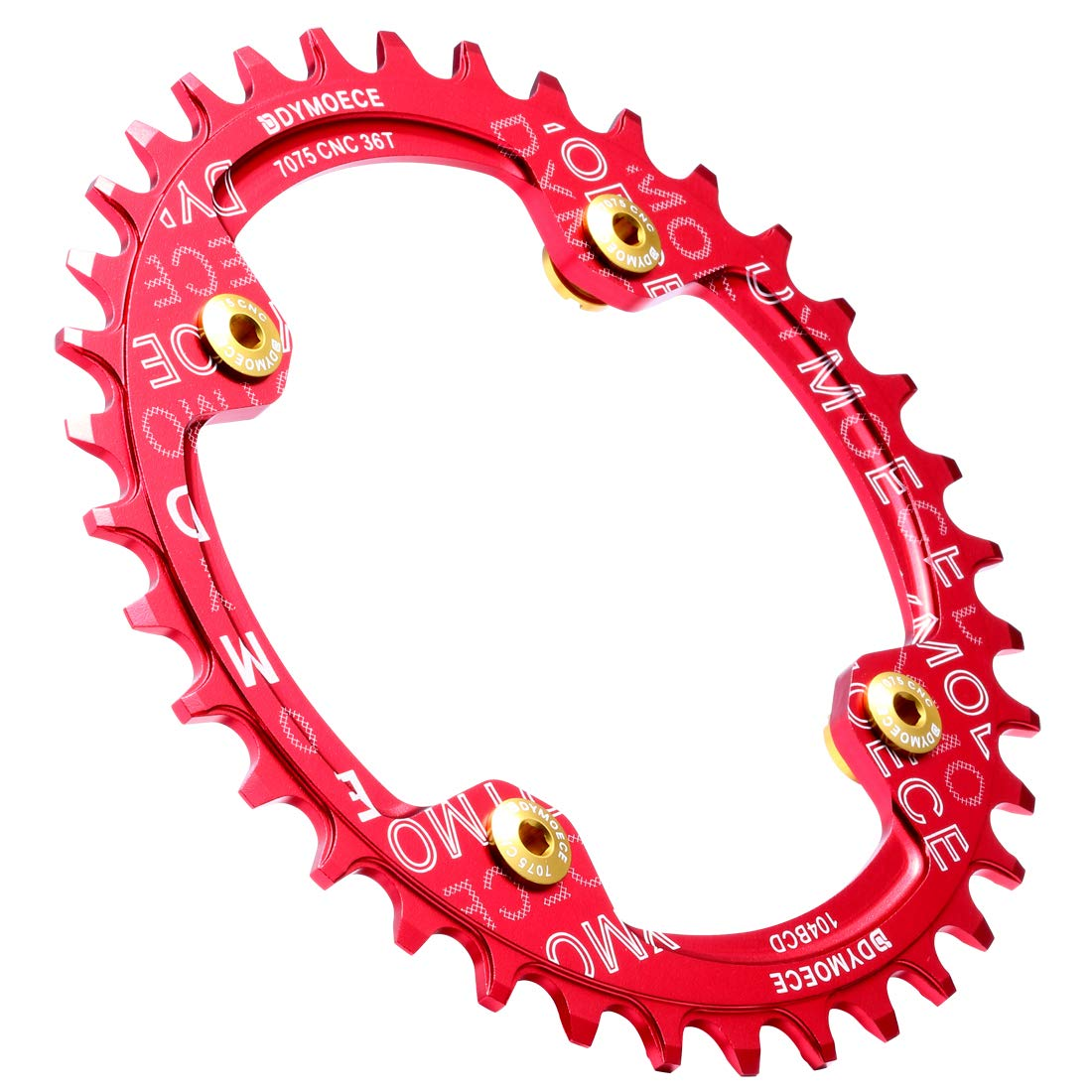 Dymoece 7075 Aluminum Alloy Double Chainring Bolts for Road MTB Bicycle M8 Crankset