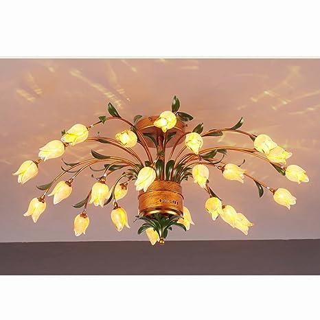 GYD Lámparas de estilo europeo nórdico de estilo americano ...