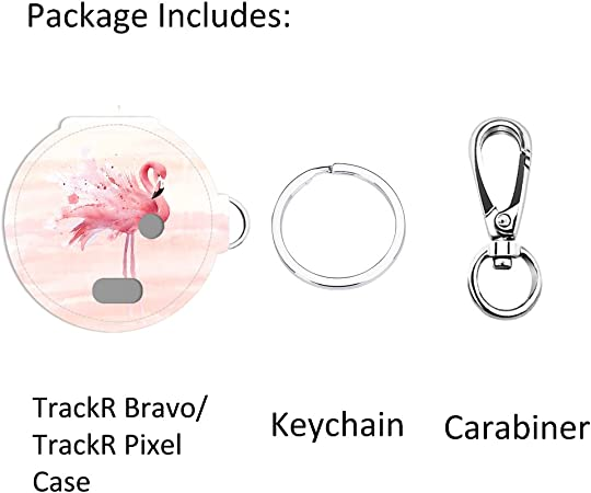 all4fit Love Heart Key Chain Protective Cover Style Accessories for trackr Bravo//trackr Pixel//Tile Mate//Tile pro//