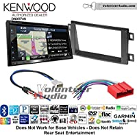 Volunteer Audio Kenwood DNX574S Double Din Radio Install Kit with GPS Navigation Apple CarPlay Android Auto Fits 2013-2016 Mazda CX-5