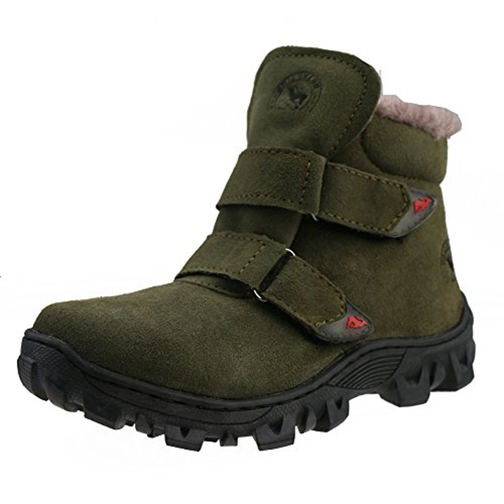 Orgrimmar Children Waterproof Cotton-patted Snow Boots (Little Kid 3)