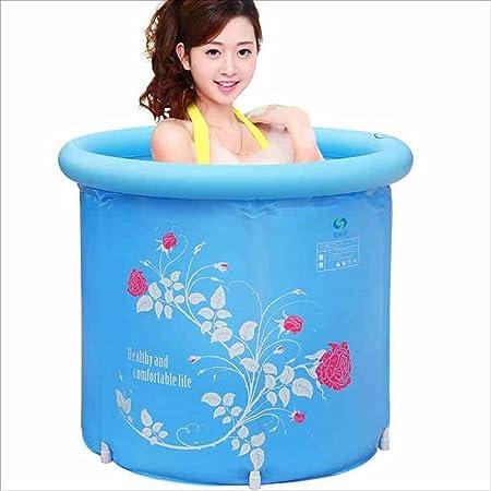 GBYYMX Bañera Hinchable Bañera de plástico Adulto bañera ...