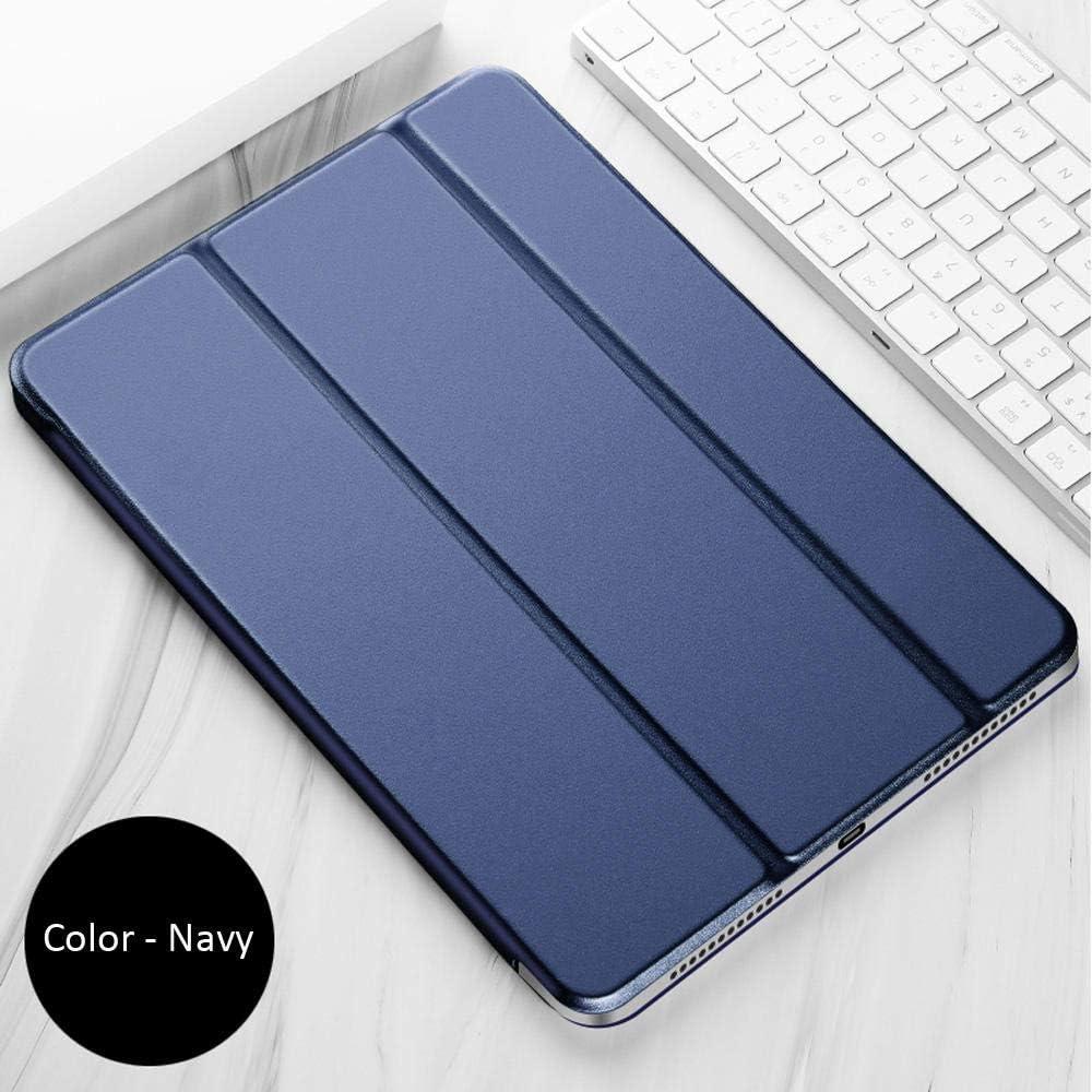 Estuche para Xiaomi Mi Pad 2 3 Mi Pad2 Pad3 7.9 Pulgadas Color PU Smart Cover Estuches Im/án Despertador Sleep Tablet Estuches-Azul Marino/_Porselein