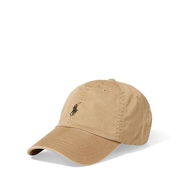 Ralph Lauren - Gorra de béisbol - para Hombre Granary Tan Talla única: Amazon.es: Ropa y accesorios