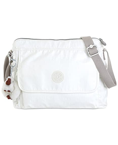 8842b84fd Kipling Women's Aisling Crossbody Bag (One Size, Lacquer Pearl): Amazon.ca:  Luggage & Bags
