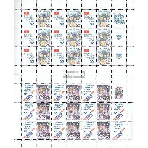 république tchèque 379Klb-380Klb Feuille miniature (complète.Edition.) 2003 merci (Timbres pour les collectionneurs)
