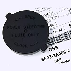 Fit tо 06-09 Fоrd Fusіоn Milаn MKZ Pоwer Steering Fluid Reservоir Cаp 6E5Z-3А006-А