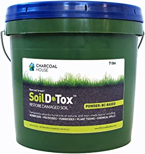 7lb/2gal Pail Charcoal Green Agricultural Soil D•Tox Activated Charcoal Powder - Coal Based …