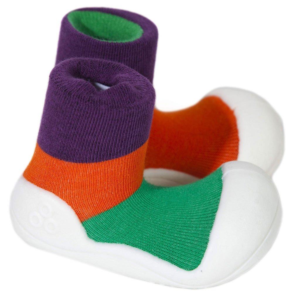 02b481600c438 Attipas Girl's Color Shoe Purple 5.5