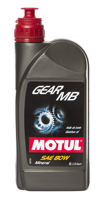 Motul 100958 Huile de Moteur Gear MB SAE 80, 1 L 1L Motul Deutschland GmbH