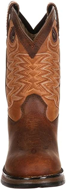 Durango Kids Boys Raindrop Western Lil Durango Leather Boots DWBT058 NIB Size