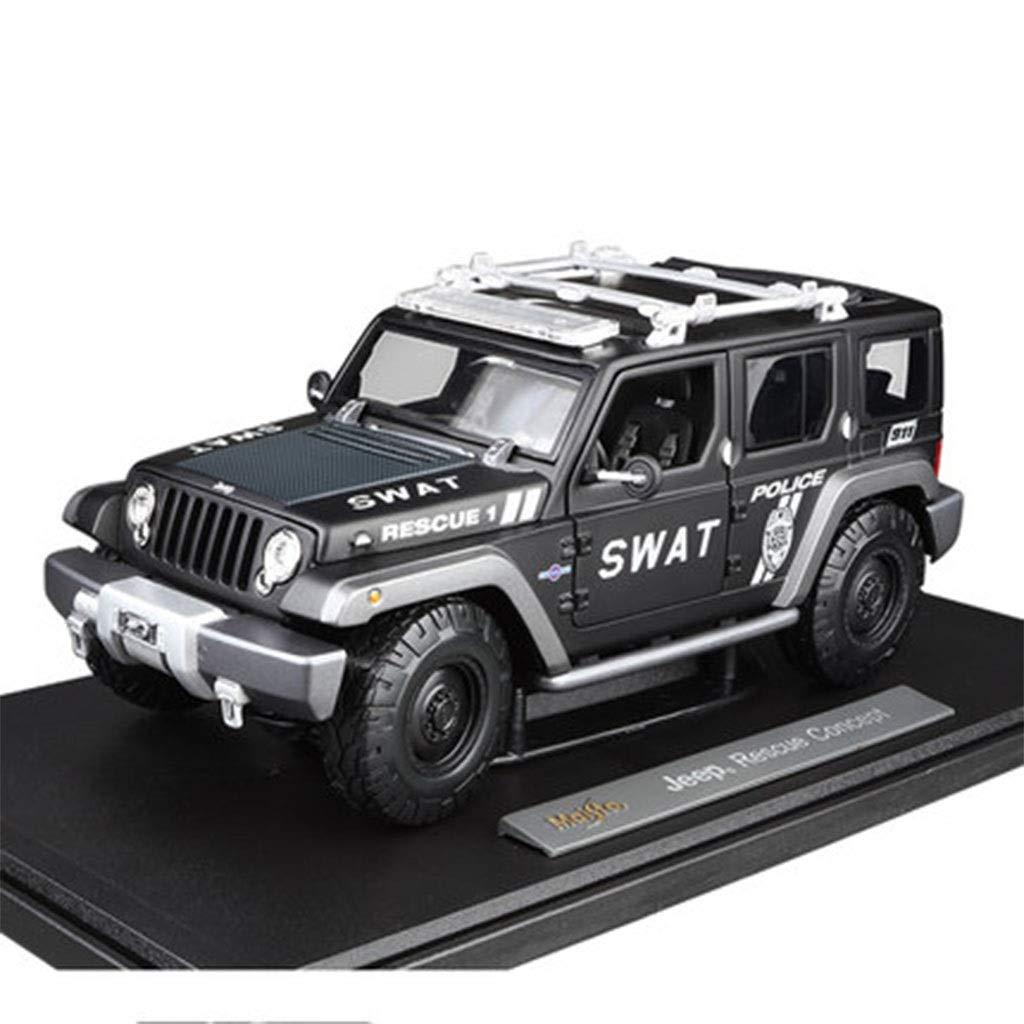 se descuenta Matte negro JXJJD 1 18 Concepto Off-Road Simulación Simulación Simulación De Coche Modelo De Coche De Aleación (Color   Matte negro)  Descuento del 70% barato