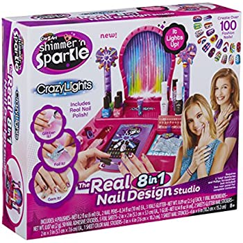 Amazon cra z art shimmer n sparkle crazy lights real 8 in compare with similar items prinsesfo Image collections