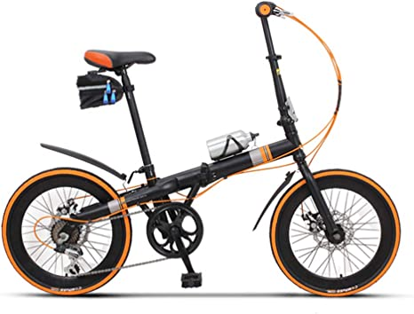 Bicicleta Plegable Adulto 20in Aluminio Bicicleta Unisex Folding ...
