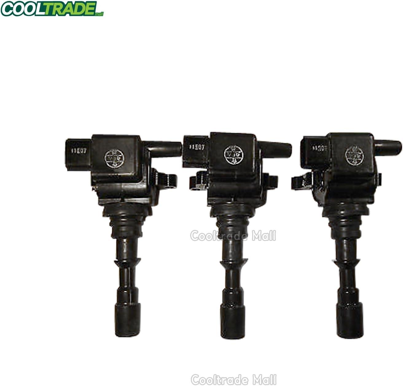 4 PCs DENSO OEM IGNITION COIL for 08-17 HYUNDAI KIA # 27300-3F100