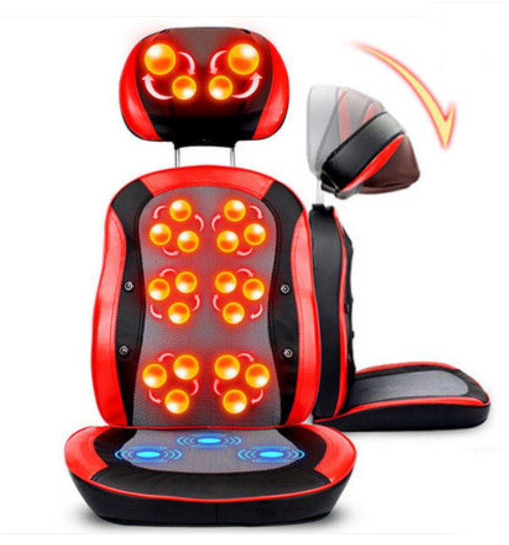 legs, buttocks, waist, back, neck AMYMGLL Multi-function electric massage chair 3D massage ball kneading infrared therapy free adjustment magnet treatment heating for the part Baby Car Seats & Accessories