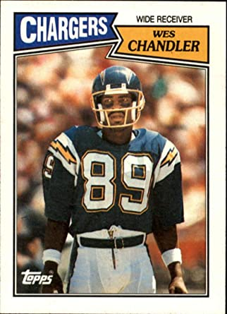 G WES CHANDLER SAN DIEGO CHARGERS 8X10 SPORTS ACTION PHOTO