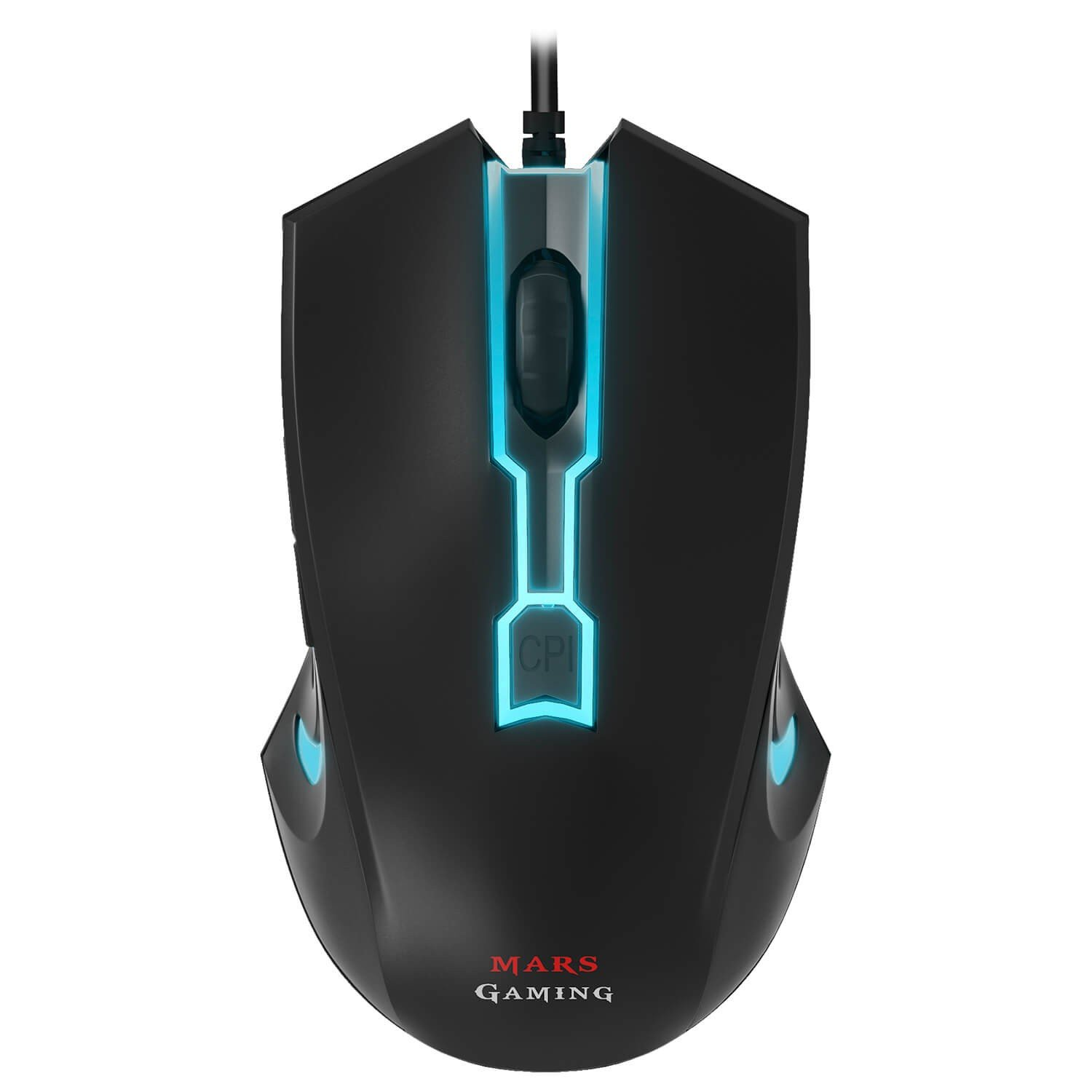 raton mouse gaming led color luz