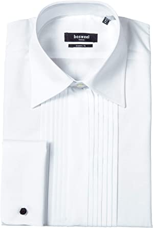 Bosweel - Camisa para hombre - Basic - Classic - fit - blanco ...