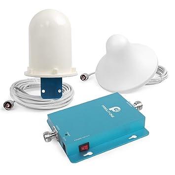 Teléfono Celular Amplificador de Señal GSM 2100MHz Repetidor de Señal de Uso doméstico Kits completos 62dbi Amplificador de Señal: Amazon.es: Electrónica