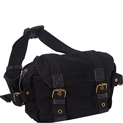 Vagabond Traveler Stylish Canvas Waist Pack