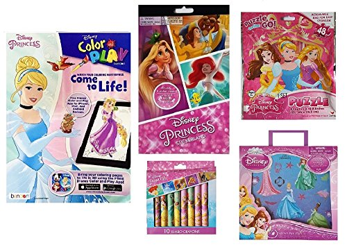 Disney Princess Activity Pack - 6