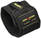 MagnoGrip 002-351 12 Pack Magnetic Wristband, Black