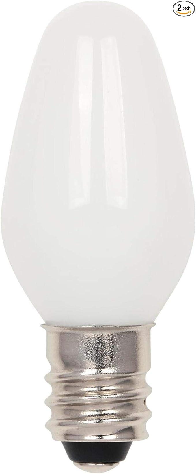 24-Pack White GE 2X-Life C7 Night Light Bulbs 4-Watt