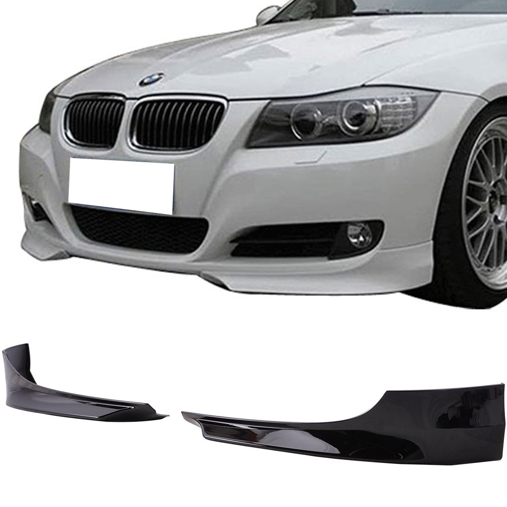 Other Color Available Fits 2009-2011 BMW 3 Series E90 LCI OE Style Unpainted PP Front Splitter Lip Spoiler