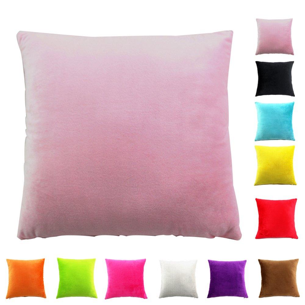 Easondea Federa per Cuscino fodere per cuscini Cuscino Copridivano Divano letto Home Decorazione auto Federa di lusso Verde 30X45CM