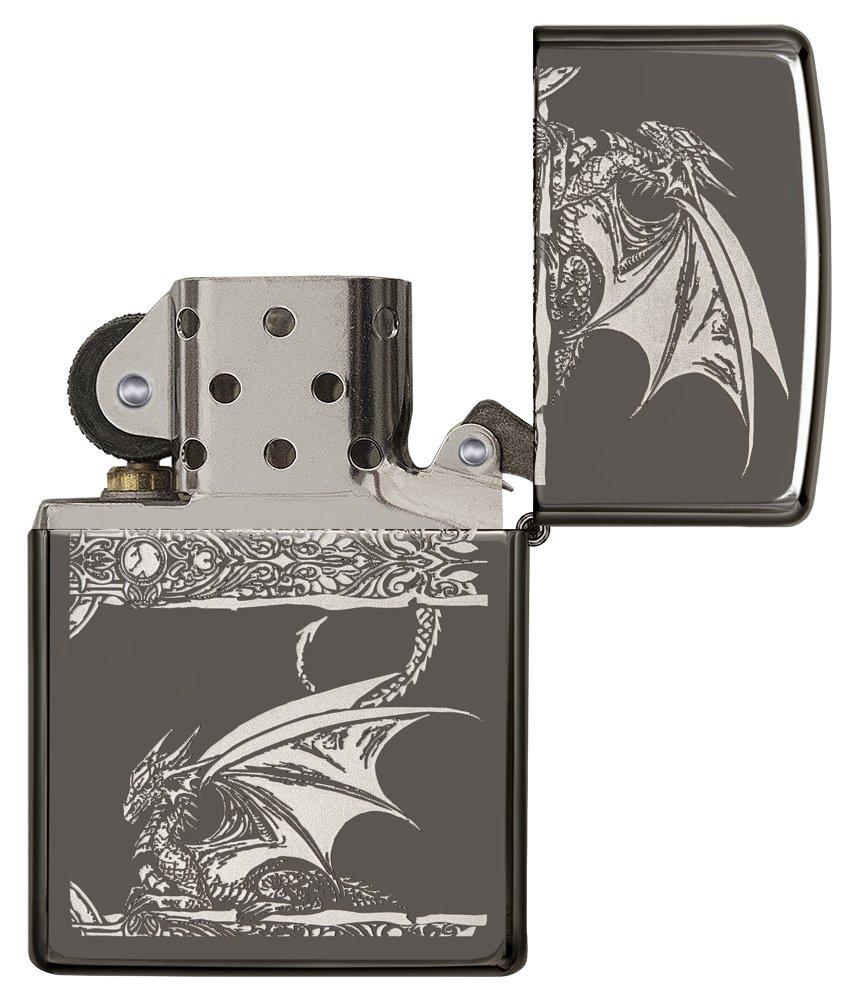 Zippo Dragon Lighters Greys Distribution 29725