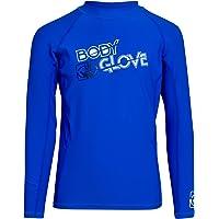 Body Glove Boys' Rash Guard Shirt - UPF +50 Sun Protection Swim Shirt, Short Sleve/Long Sleeve (Big Boy)