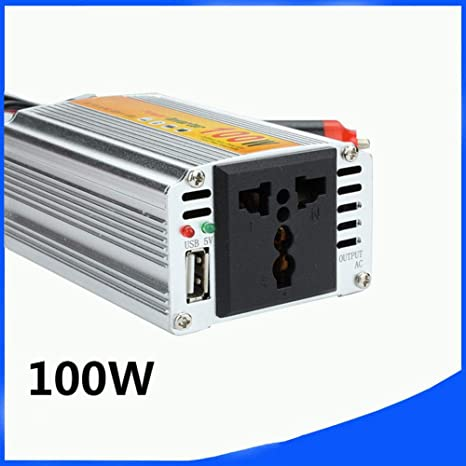 Amazon.com: Inversor de potencia para coche de 12 V a 110 V ...
