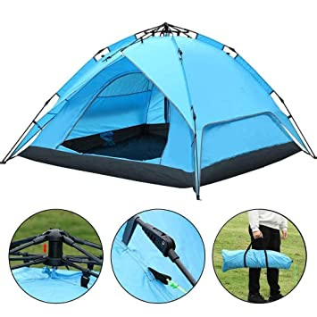 World Pride Waterproof Outdoor 4 Person Automatic Instant C&ing Family Tent  sc 1 st  Amazon.com & Amazon.com : World Pride Waterproof Outdoor 4 Person Automatic ...