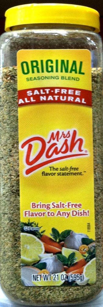 Mrs. Dash ORIGINAL BLEND Salt-Free Seasoning 21oz (3-pack)