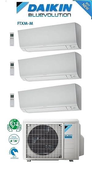 Aire acondicionado/climatizador Daikin triple split Bluevolution 12 000+ 12 000+