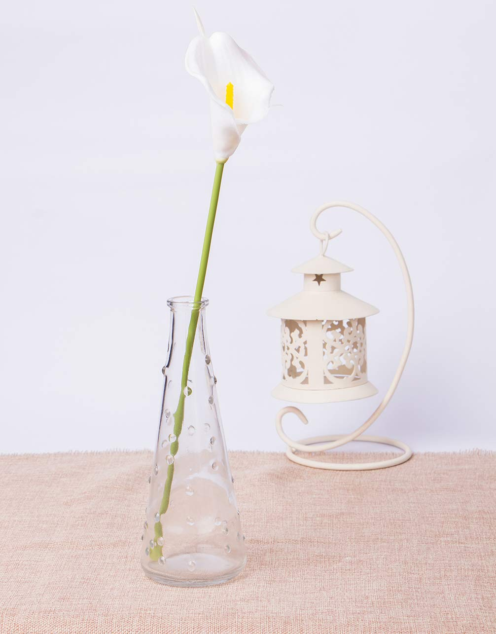 Foraineam-Pack-of-30-Calla-Lily-Artificial-Flowers-Bridal-Wedding-Bouquets-Home-Party-Floral-Decor-Real-Touch-Fake-Flowers-White