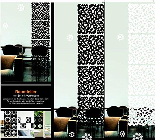 Moderner Raumteiler Motiv Klassik Weiß