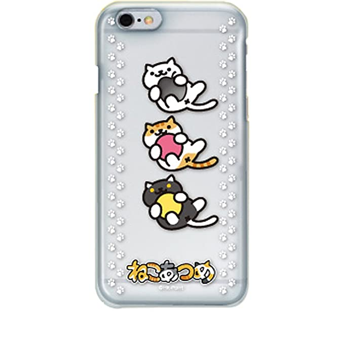 brand new 08b9f 10893 Neko Atsume Character Hard Case for iPhone 6 (Cats Gathered / Ball Game)
