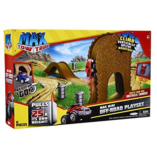 24 Piece Max Tow Truck Max Mini Off-Road Playset ()
