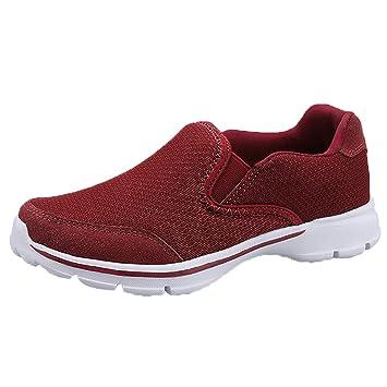 0b892423cff4 Amazon.com: Jiayit Women's Casual Sports Shoes Breathable Mesh Shoes ...