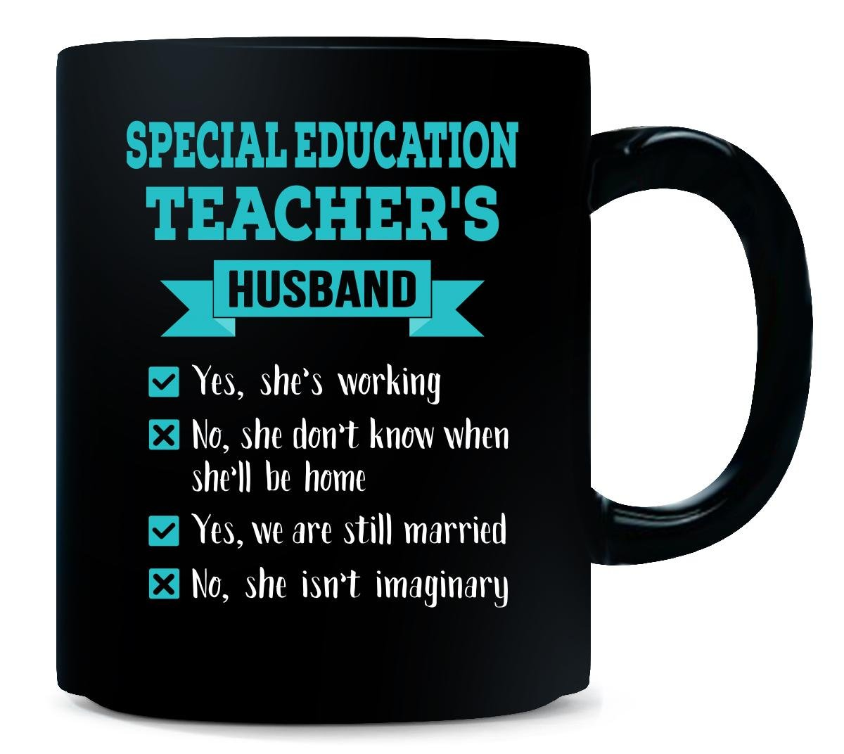 special education teacher gift mug husband quote humor