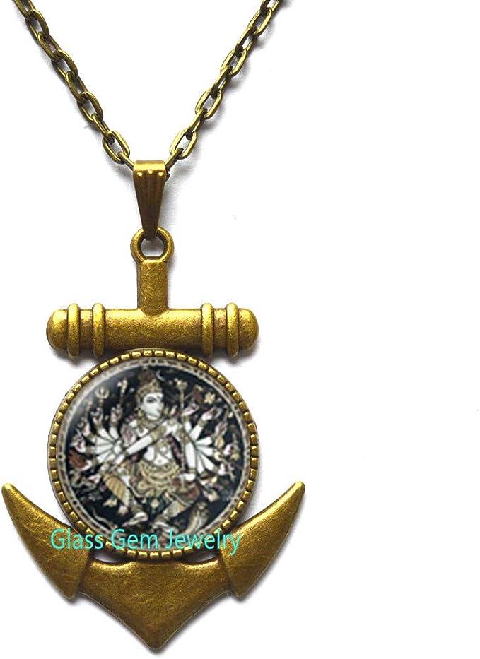 Buddhist jewelry Spiritual Jewelry,Q0206 Shiva Nataraja Nataraja Locket Necklace Hindu Locket Necklace hinduism shiva gods Locket Pendant